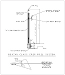 Reagan Handrail Line Drawing