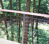 Stainless Steel Guard Rails for a Private Residence