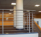 Stainless Steel Railings for the University of Kansas